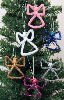 Easy-Angel-Crafts-Wire-Cross-Angel-five-finished-on-tree