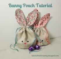 Bunny Pouch Tutorial listentothebirdssing