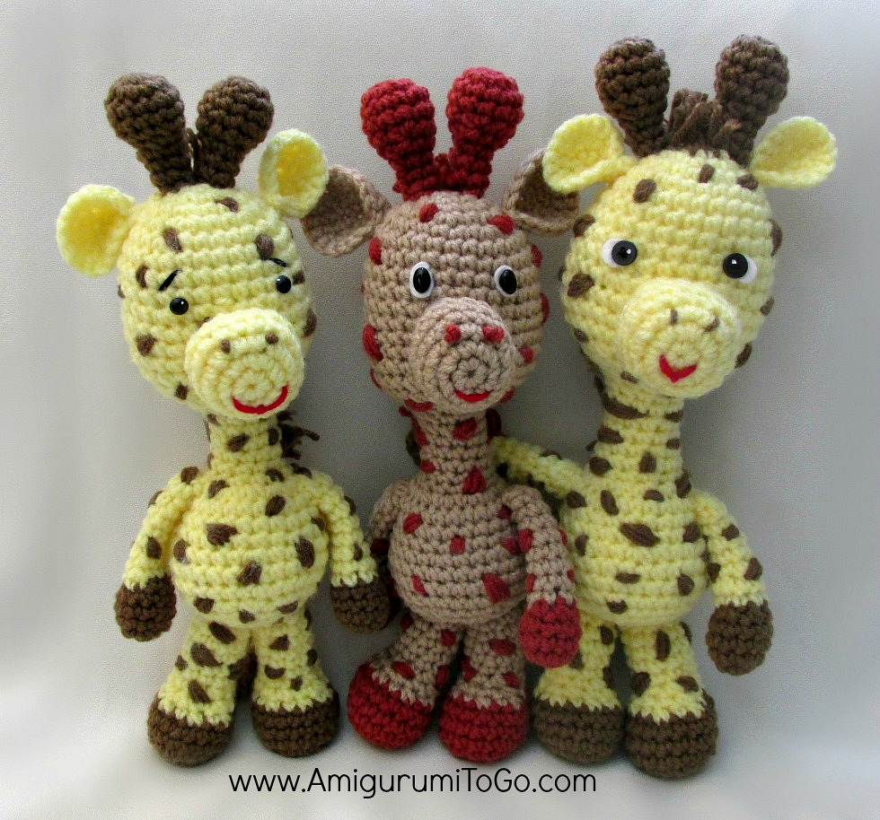 Amigurumi Giraffe Kostenlos : Giraffe - amigurumi - gratis haakpatroon : Freubelweb