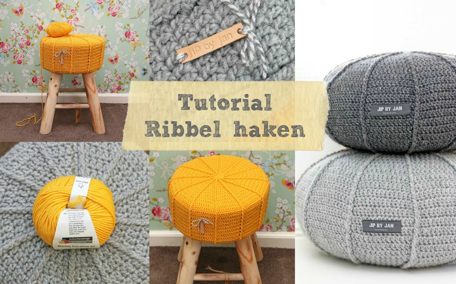 Tutorial ribbel haken Jip by Jan