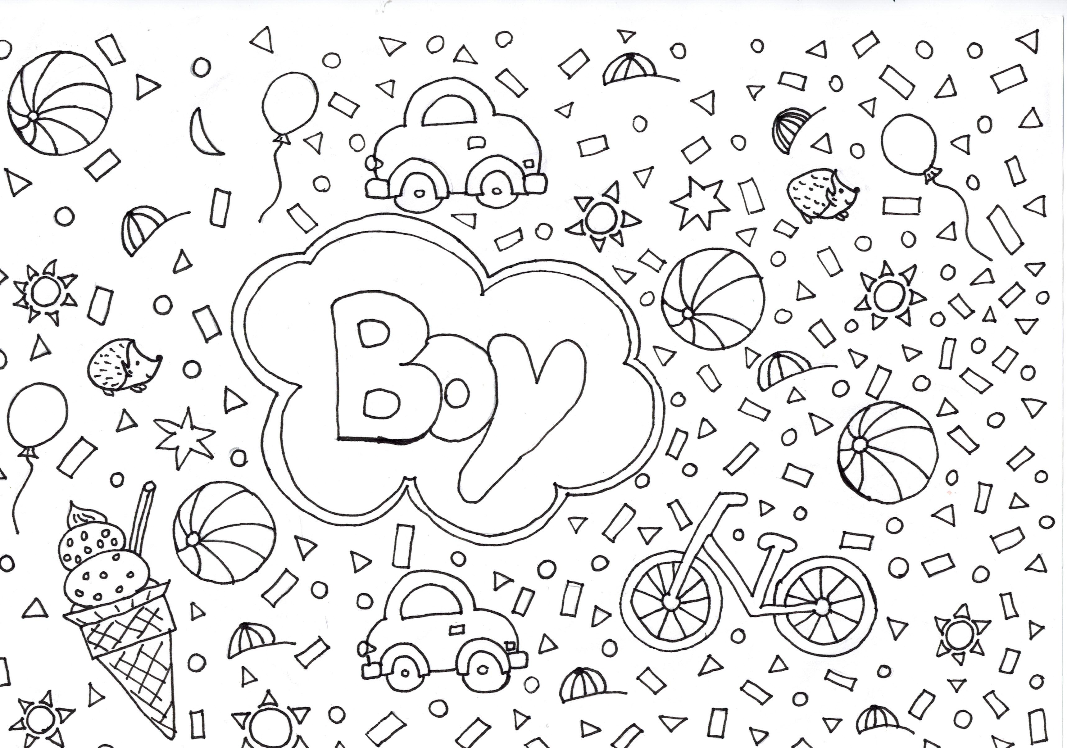 Uitzonderlijk Kleurplaat voor jongens - Freubelweb :Freubelweb &WK47