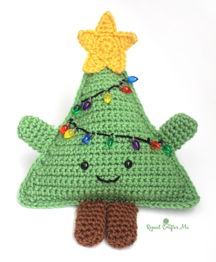 Zelf Maken Met Haakkatoen Kerstboom Freubelweb Freubelweb