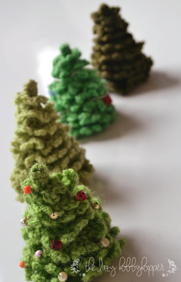 Zelf Maken Met Haakgaren Kerstboom Freubelweb Freubelweb