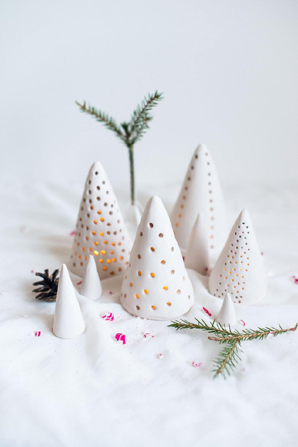 Zelf Maken Met Klei Kerstlichtjes Freubelweb Freubelweb