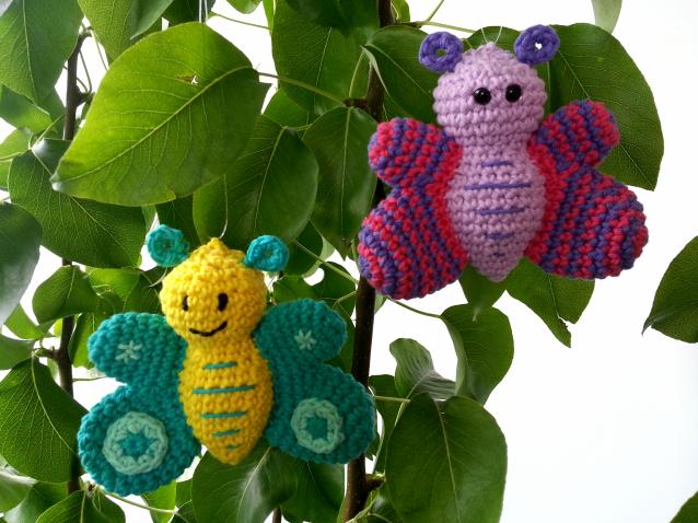 Zelf Maken Met Haakkatoen Vlinders Freubelweb Freubelweb