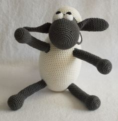 Gratis Haakpatroon Shaun The Sheep Freubelweb