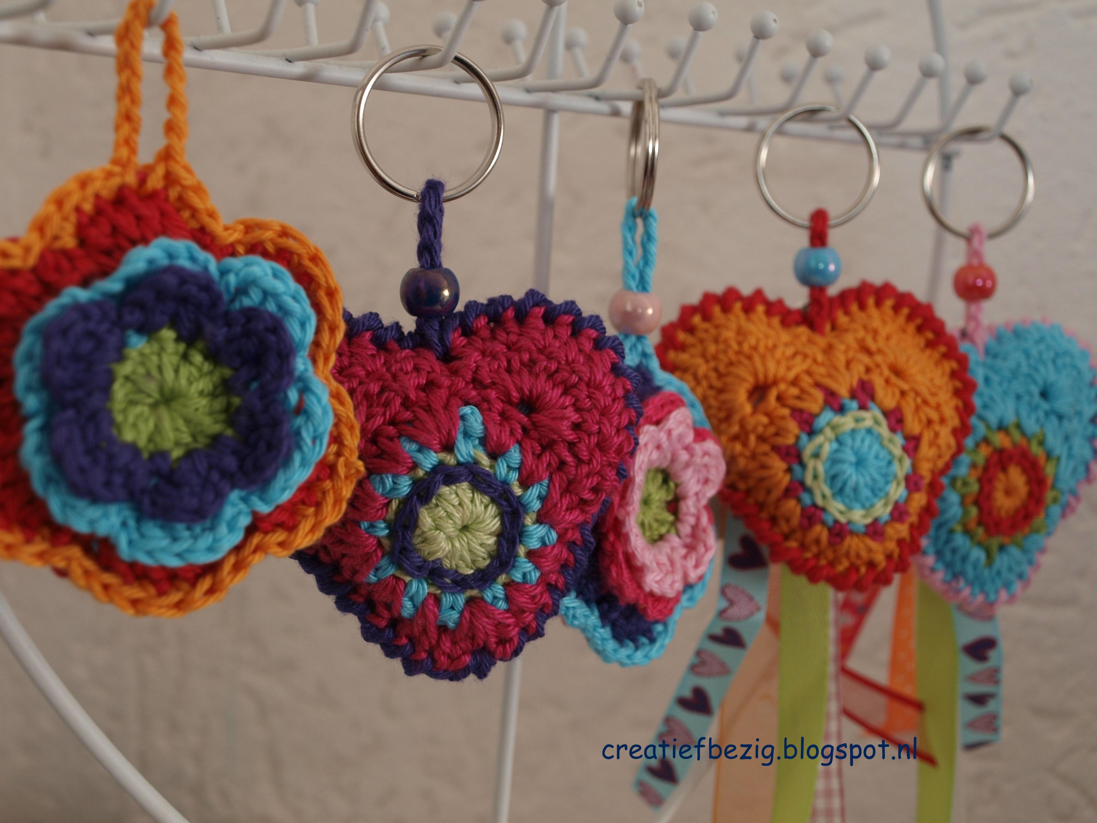 Kleurrijk Hartje Haken Freubelweb Freubelweb
