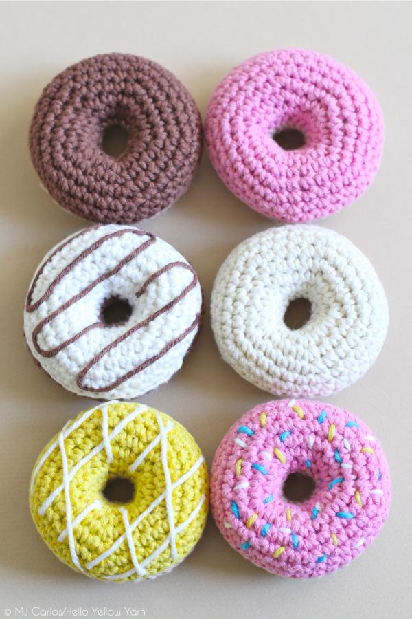 Gratis Haakpatroon Donuts Freubelweb