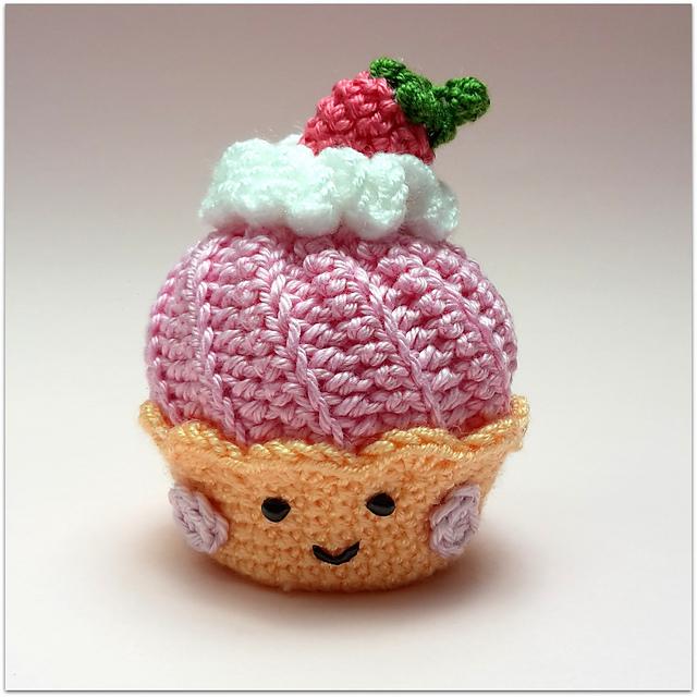 Gratis Haakpatroon Cupcake Freubelweb Freubelweb