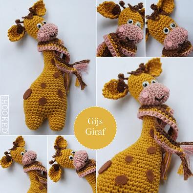 Gratis Haakpatroon Giraf Freubelweb Freubelweb