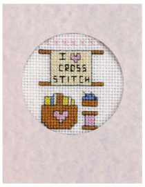 i love cross stitch