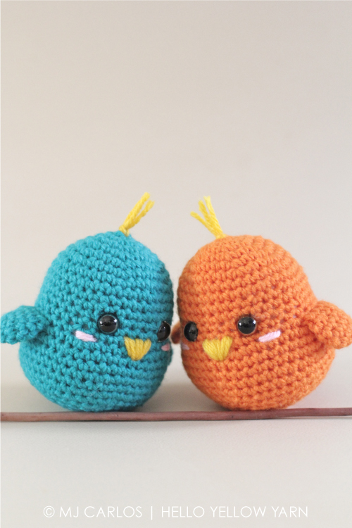 Gratis Haakpatroon Lovebirds Freubelweb Freubelweb