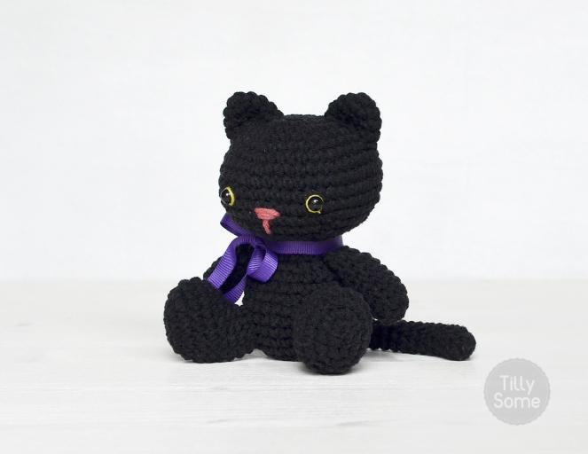 Gratis Haakpatroon Zwarte Kat Freubelweb Freubelweb