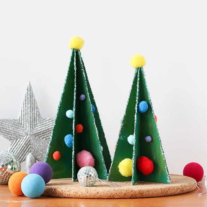 Zelf Maken Met Karton Kerstboom Freubelweb Freubelweb