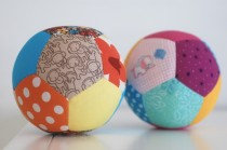 patchwork bal van stof