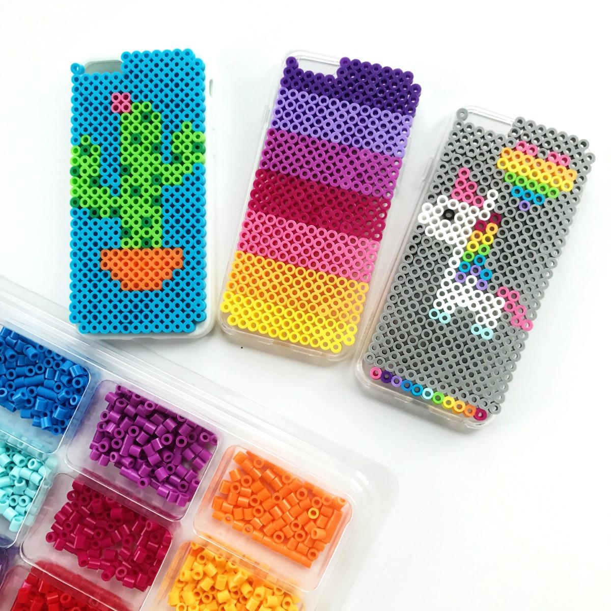 New Zelf maken met strijkkralen: TELEFOONHOESJE - Freubelweb :Freubelweb @OS04