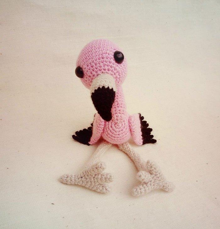Gratis Haakpatroon Flamingo Freubelweb Freubelweb