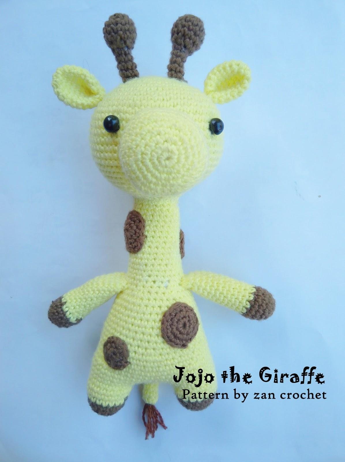 Gratis Haakpatroon Giraffe Freubelweb Freubelweb