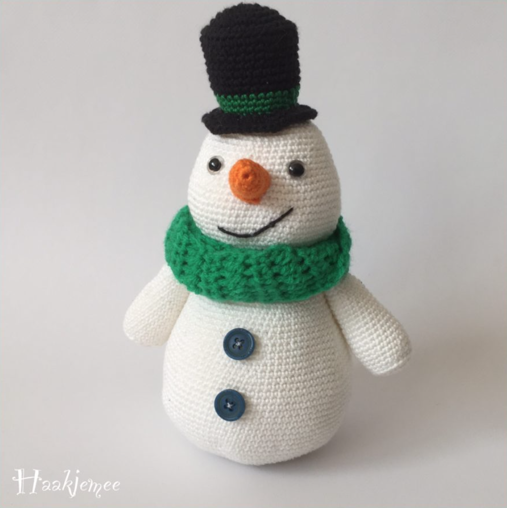 Gratis Haakpatroon Sneeuwpop Freubelweb Freubelweb