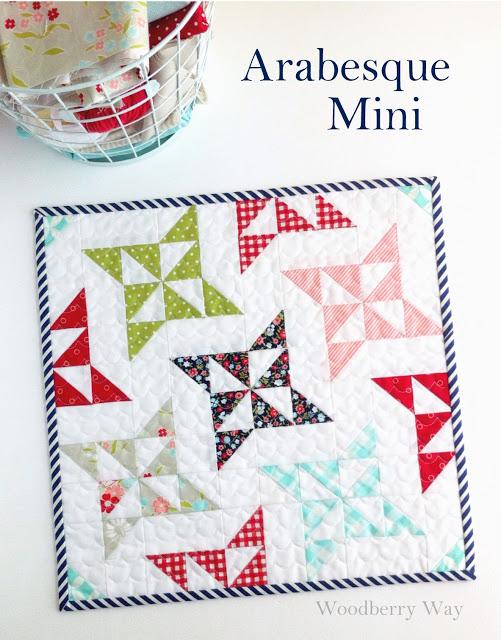 Zelf maken met stof mini quilt freubelweb freubelweb for Quilt maken met naaimachine