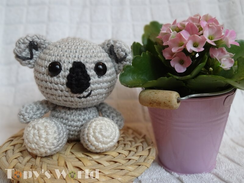 Gratis Haakpatroon Koala Beertje Freubelweb Freubelweb