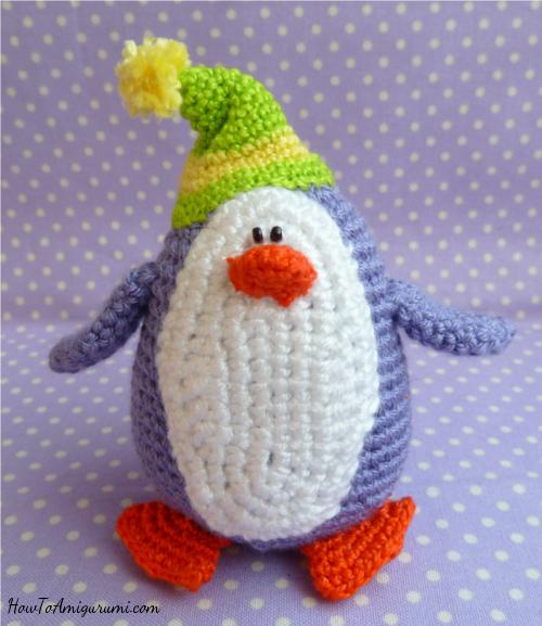 Gratis Haakpatroon Pinguin Freubelweb Freubelweb