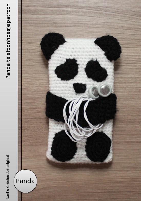 Gratis Haakpatroon Panda Telefoonhoesje Freubelweb Freubelweb