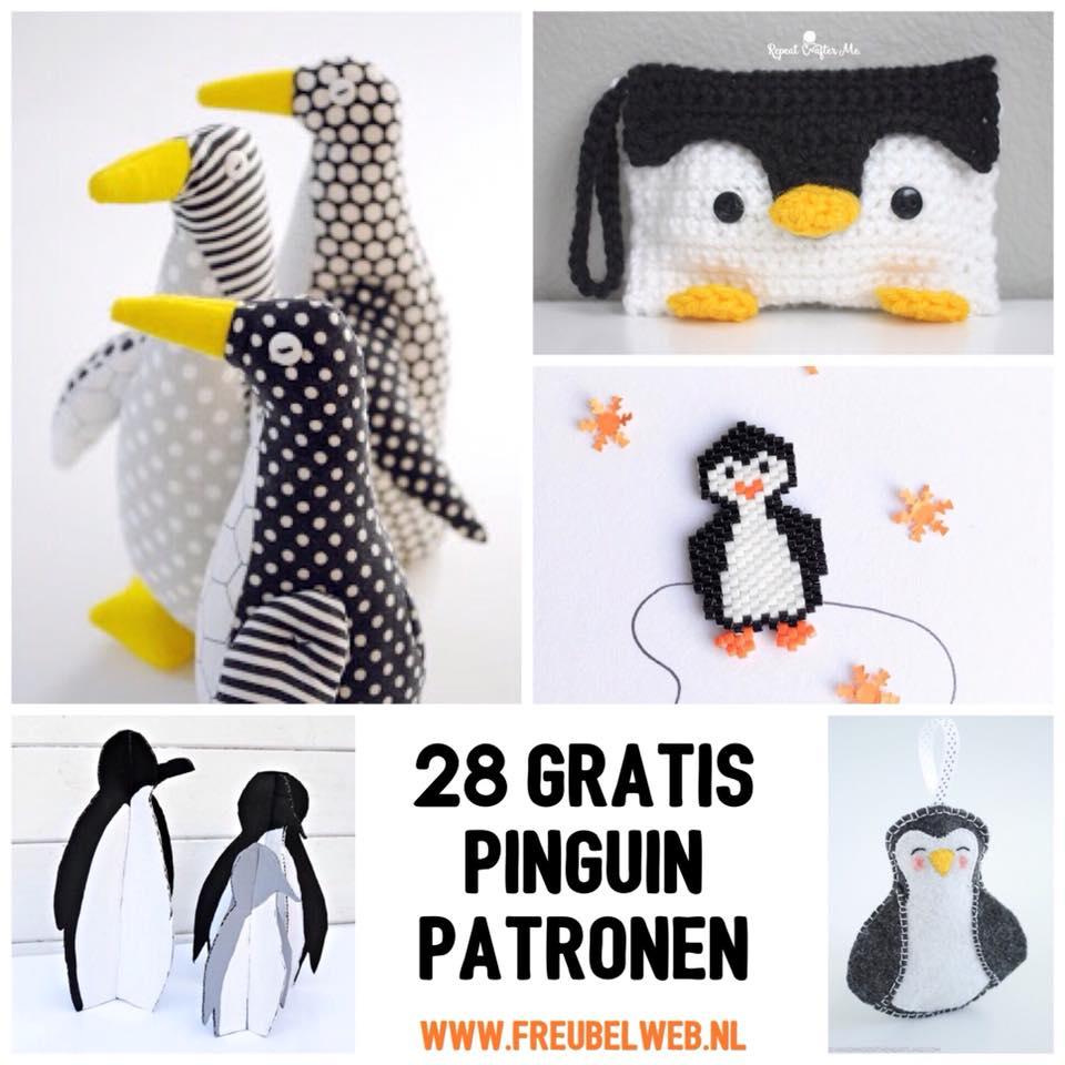 gratis pinguin patronen
