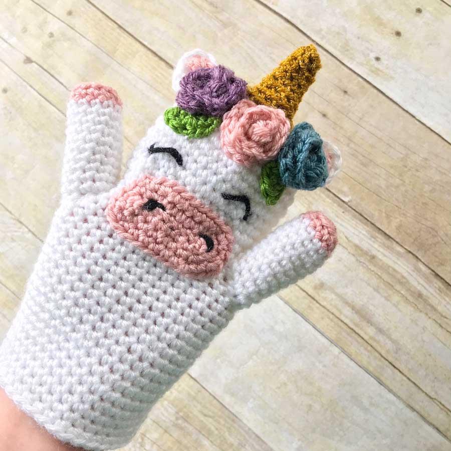 Gratis Haakpatroon Handpop Eenhoorn Freubelweb Freubelweb