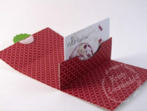 pop-up gift card holder