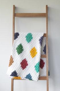 harlequin deken