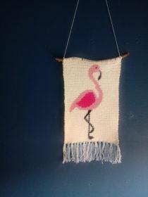 wandhanger flamingo