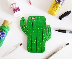 cactus telefoonhoesje