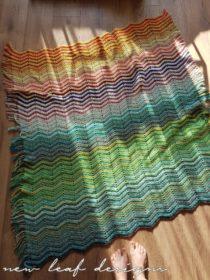 zigzag deken