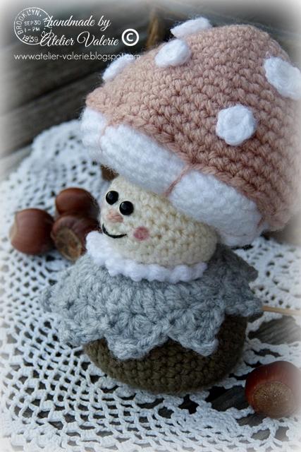 paddenstoel meisje