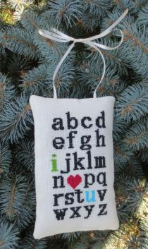 I love you alfabet