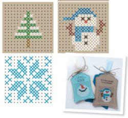 kerstfiguurtjes borduren