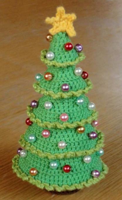 Gratis Haakpatroon Kerstboom Freubelweb Freubelweb