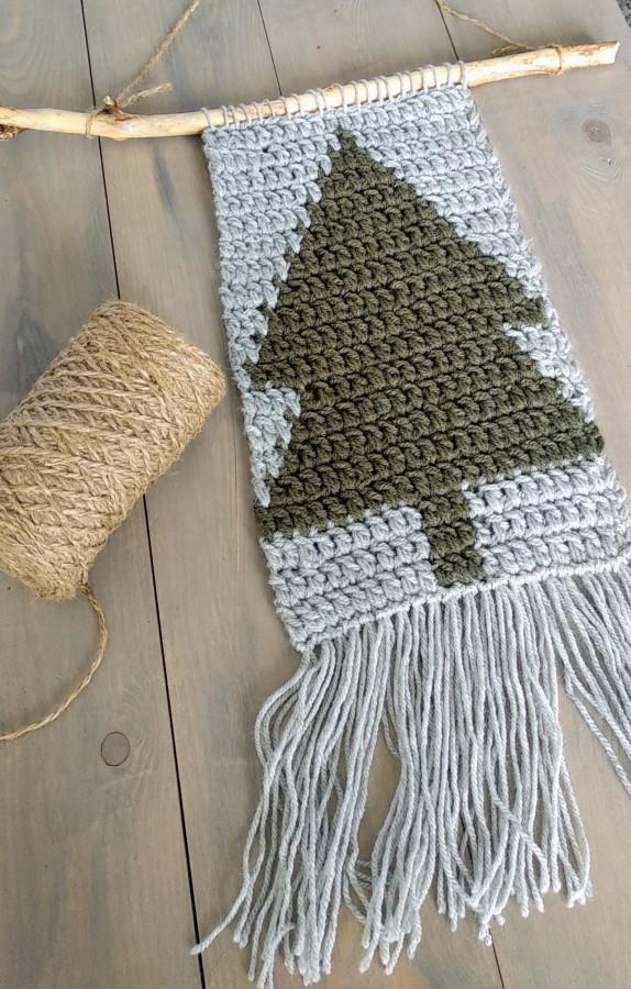 kerst wandhanger