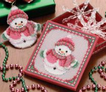 sneeuwpop borduren