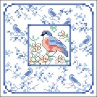 vogeltje borduren