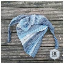 sjaal gratis breipatroon