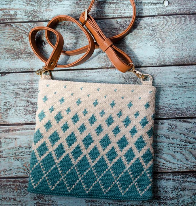 Gratis Haakpatroon Tapestry Tas Freubelweb Freubelweb