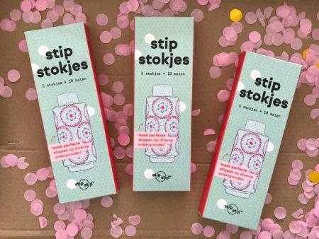 give away stipstokjes