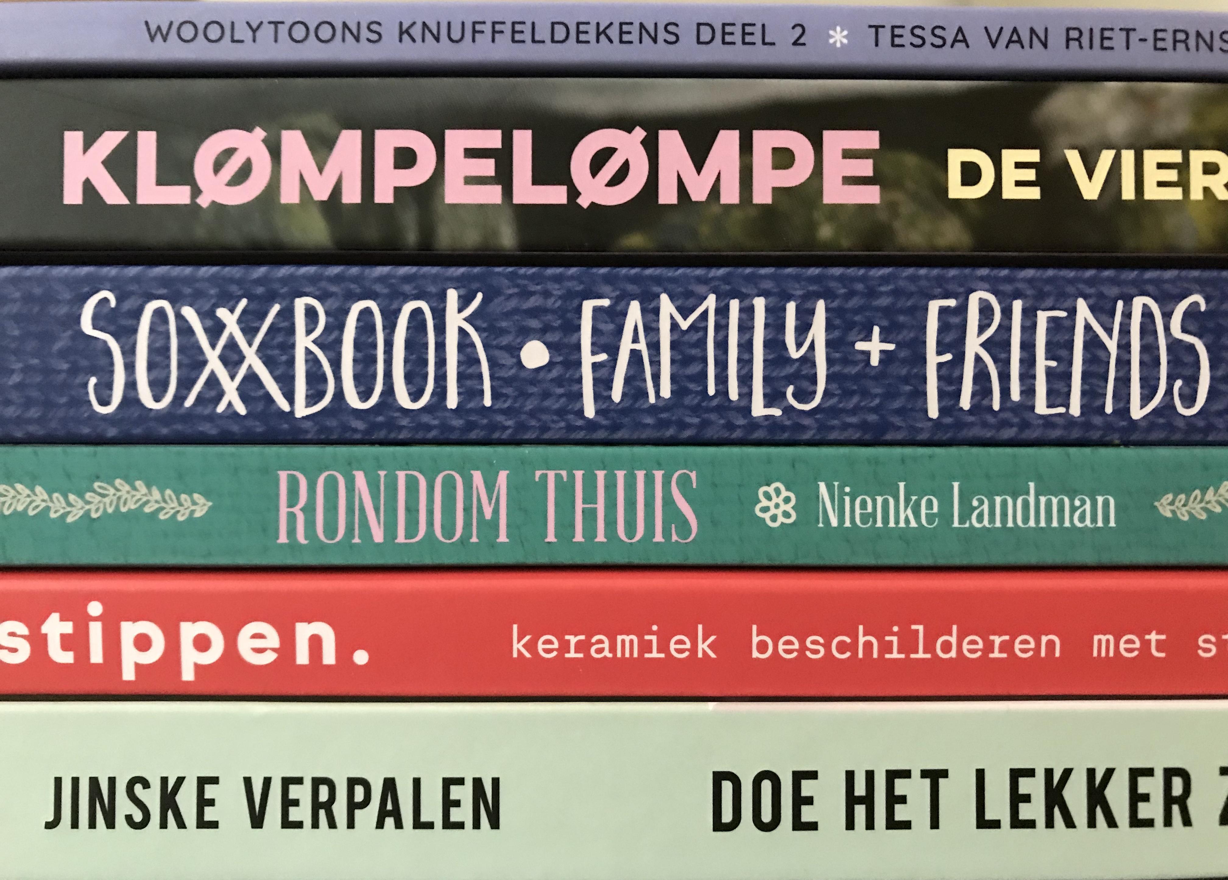 Favoriete handwerkboeken