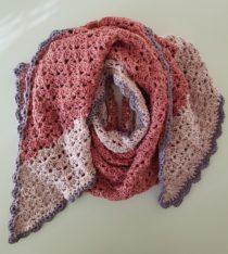 gratis haakpatroon sjaal