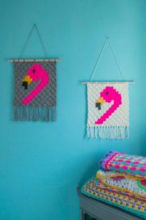flamingo wandhanger