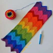 haaksteek moss stitch