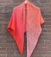 sjaal haakpatroon