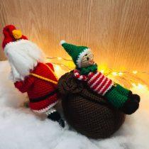 kerstman en luie elf